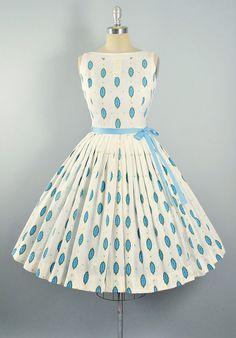 Vintage 1950s Dress Set / 50s NOVELTY Mid by GeronimoVintage