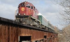 Groupon - Fort Smith to Winslow Train Excursion for Two or Four from Arkansas & Missouri Railroad (Up to 51% Off) in Fort Smith. Groupon deal price: $45