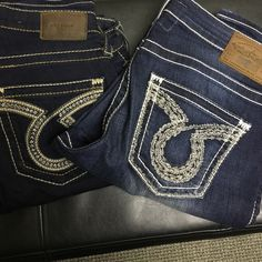 2 big stars Both practically brand new Big Star Jeans Skinny