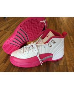 c379b2942094 Buy Genuine Youth Big Boys Air Jordan Jordan Big Boy Shoes Young 12 Dynamic  Pink Valentines Day Vivid Pink For Sale