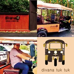 "If ""tuk tuk"" is a fun memory from traveling in Thailand, divana spa would be a relaxing one. Today, the two memories is now united, ""travel in an aesthetic of relaxation"""