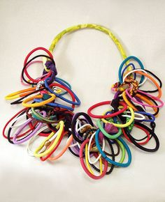 Ficklesticks Loopy Necklace Multi-colored | Flaxgirl