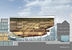 Redesigned Queen Elisabeth Hall in Antwerp