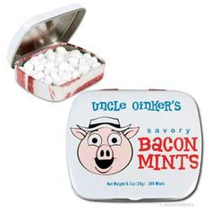 Uncle Oinkers Savory Bacon Mints