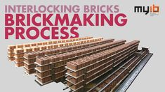 Step by step - Interlocking Bricks Brickmaking Process - MYIB