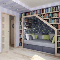 I would love a reading nook in the ground floor between the kitchen and the living area...or on the second floor near the entrance to the terrace perhaps??