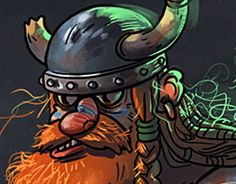 "Check out new work on my @Behance portfolio: ""Viking"" http://be.net/gallery/34069914/Viking"
