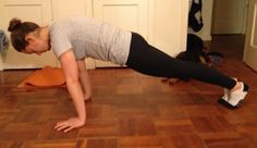 It's good to supplement running with something else! Advanced Core Workout