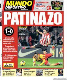 Los Titulares y Portadas de Noticias Destacadas Españolas del 2 de Diciembre de 2013 del Diario Mundo Deportivo ¿Que le pareció esta Portada de este Diario Español?