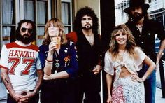May 15th 1975 Fleetwood Mac. Played their first gig together in El Paso TX.