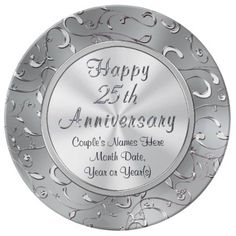 Shop Personalized Anniversary Plate, Porcelain Dinner Plate created by LittleLindaPinda. Anniversary Clock, Homemade Anniversary Gifts, Wedding Anniversary Celebration, Anniversary Gifts For Parents, Anniversary Dates, Birthday Gifts For Sister, Homemade Wedding Gifts, Wedding Plates, Couple Gifts