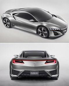 Acura NSX to return as a HYBRID