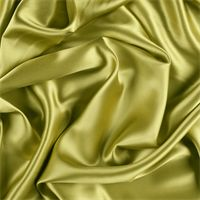 Chartreuse Stretch Silk Charmeuse