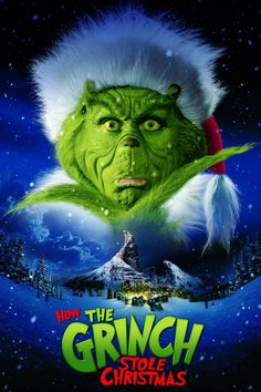 Titel : How the Grinch Stole Christmas Vrijgegeven : 17 Nov 2000 Genre : Comedy, Family, Fantasy Duur : 104 min Synopsis : On the outskirts of Whoville lives a green, revenge-seeking Grinch who plans to ruin Christmas for all of the citizens of the town. Molly Shannon, Le Grinch, Grinch Stole Christmas, Christmas With The Kranks, Christmas Carol, Arthur Christmas, Christmas Books, Cindy Lou, Jim Carrey