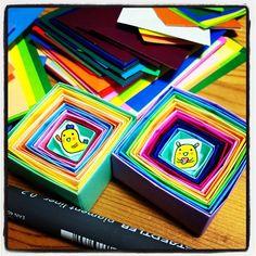small ver. #chinhako #origami #box - @chinhako- #webstagram