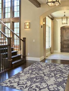 27 Gorgeous Foyer Designs & Decorating Ideas Arched foyer entry to home with st. 27 Gorgeous Foyer Designs & Decorating Ideas Arched foyer entry to home with stairs and large area House Design, Foyer Design, House, Entry Foyer, House Entrance, Foyer Decorating, Luxury Homes, New Homes, House Interior