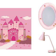 Detalles rosas para dormitorio infantil