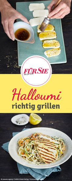 Grillkäse schmeckt einfach lecker. Wir zeigen euch, wie ihr Halloumi lecker zubereiten könnt.