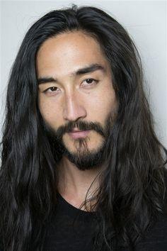 what a beautiful man Pretty Men, Gorgeous Men, Tony Thornburg, Handsome Asian Men, Japanese Sexy, Japanese Style, Male Face, Facial Hair, Bearded Men
