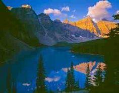 Moraine Lake- Banff Natl. Park  Alberta, Canada