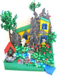 Fabuland Goat's House Sir Nadroj from MOCpages.com