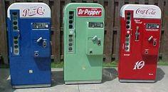 PAPERMAU: Pepsi & Pepper Soda Machines Paper Models - by Paper Diorama