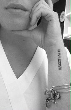 tattoo date