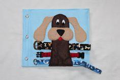Dog Collar Buckling quiet book page!