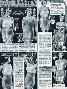 """Bust Confining Adaptolette with Adjustable Reducing Inner Belt"" Ah, the good old days!"