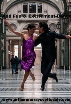 Ballroom Dance Lessons: Put Love And Excitement Into Your Life! http://scottsdaledanceblog.com/?p=1300 Free Private Lesson.