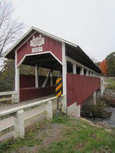 Glessner Covered Bridge  Covered Bridge Rd  Shanksville, PA