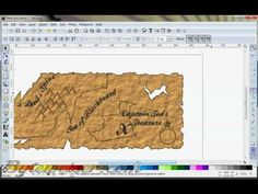 In this screencast, I will show you how to make a cool looking old pirate treasure map. Inkscape was used in this video. Pirate Treasure Maps, Inkscape Tutorials, Make It Yourself, My Favorite Things, Building, Youtube, Draw, Buildings, Youtubers
