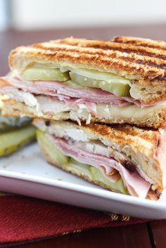Leftover Thanksgiving Turkey Cuban Sandwiches