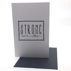 I'm not sure this is going to make sense but I will articulate it the best way I can.   If I were my friend I would send myself this card!   After the morning I had in my household I would definitely deserve to get it and would appreciate the message!   Why do mornings have to be so difficult?! I am the #strongmom of a wonderful hilarious and very passionate six year old boy. At school pick up in the afternoon he loves to share the news of the day with me and he raves about what a fun time…