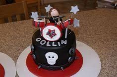 rock band cake - Google Search
