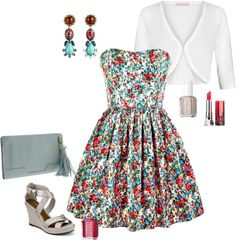 """""""What to Wear to a Beer Garden Wedding"""" by styleyouniversity on Polyvore"""