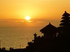 Tanah lot at Bali, Indonesia