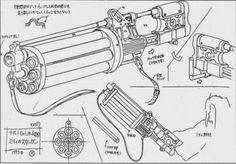 trigun guns - Google Search