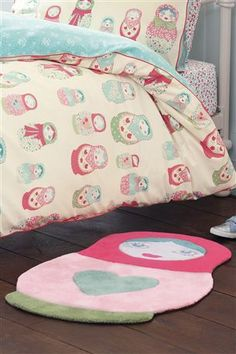 Buy Russian Dolls Bed Set from the Next UK online shop thank god for Next :) Cafe Concept, Linen Bedding, Doll Bedding, Bed Linen, Doll Beds, Matryoshka Doll, Little Girl Rooms, Room Themes, Cute Dolls