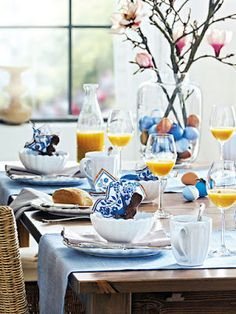Easter Decorations : 12 Gorgeous table setting Ideas!