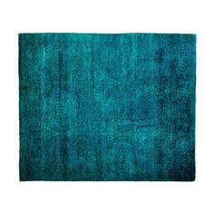 """4'x4'9"""" Ingrid Rug Blue Area Rugs (1,460 CAD) ❤ liked on Polyvore featuring home, rugs, blue, traditional wool area rugs, traditional wool rugs, coloured rug, hand knotted rugs and wool rugs"""