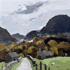 View Sir Kyffin Williams | Autumn Waunfawr at Rowles Fine Art