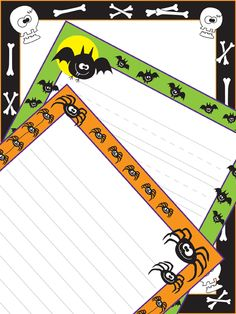 Halloween Paper — fun paper is a great incentive for student writing