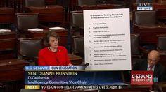 Who: Senator Dianne Feinstein (D-California) When: June...
