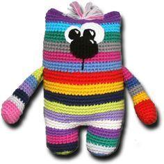 Resteverwertung, gratis Anleitung (Diy Baby Crochet)