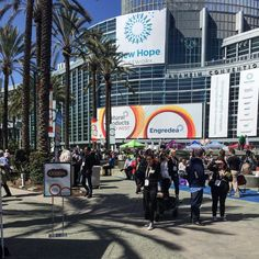 A beautiful day at #ExpoWest #naturalfoodsexpo #anaheimconventioncenter #ExpoWest2016