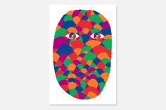Face red by Geometricbang #illustration