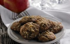 Oatmeal cookie recipes made with stevia Oatmeal Cookie Recipes, Oatmeal Cookies, Xmas Cookies, Sweet Desserts, Stevia, Sweet Tooth, Healthy Eating, Healthy Recipes, Baking