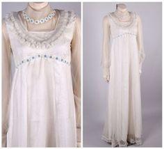 VTG-1970s-wedding-dress-embroidered-sheer-swiss-dot-daisy-chain-flower-child
