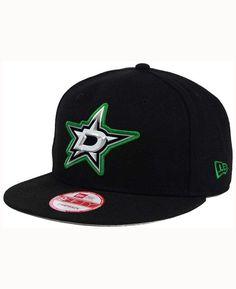 New Era Dallas Stars Bevel 9FIFTY Snapback Cap Men - Sports Fan Shop By Lids  - Macy s 2160ba382